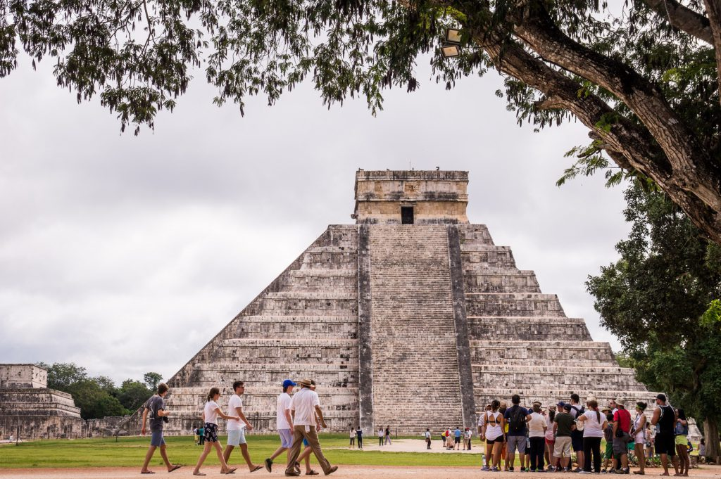 Chichen Itza - one of the most visited archaeological sites in Mexico