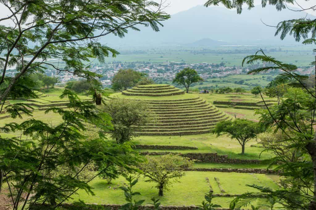 Guachimontones - Round pyramids in Teuchitlan Jalisco